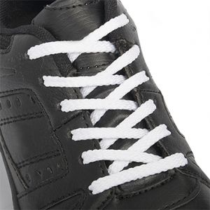 Are you on the hunt for some longer laces? We have just what you need! Our flat laces are the perfect replacement set for your shoes. Whether you need something for school, work, casual, or active shoes, these flat laces will fit like a dream! The slim cross-section on our laces will let you tie these nice and securely. So, grab a set of spare laces today!  Length: 125cm