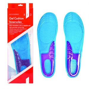 Get the best comfort with Gel Innersoles! Enjoy extra cushioning—